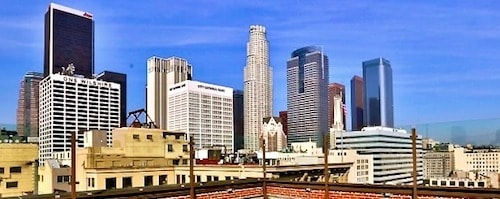 Los Angeles Rooftop Marriage Proposal Idea