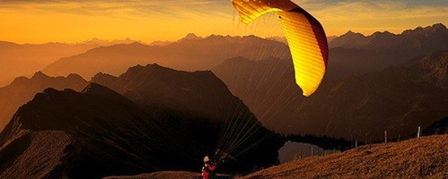 Paragliding Marriage Proposal Idea