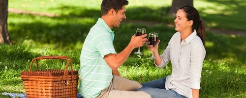 Romantic Picnic Proposal Idea