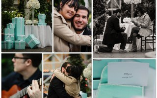Romantic Tiffany Proposal in Chicago