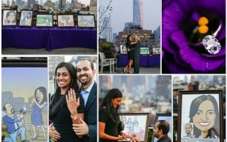 New York Love Story Rooftop Proposal